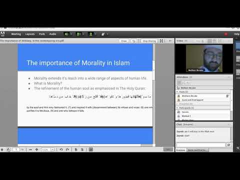 The Importance of Islamic Morality in the contemporary era- English