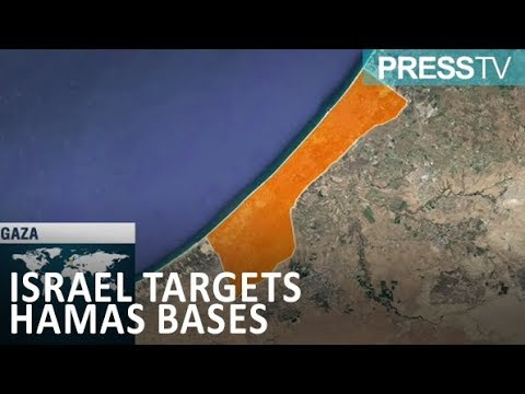 [9 March 2019] \'Targeted Hamas sites by Israel fighter jets suffer extensive damage