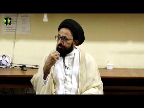 [Lecture] Topic: عوامی خدمت کے 2 اصول : امانتداری اور قول کی سچائی | H.I Sadiq Raza