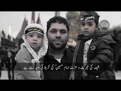 Noha Labbayk Ya Hussain |Urdu Subtitles | Excellent Video | Azadari in Iran | Nauha-Urdu Subtittle -urdu
