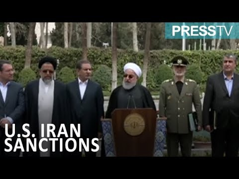 "[19 March 2019] Iran president describes US anti-Iran sanctions as ""crimes against humanity\"" - English"