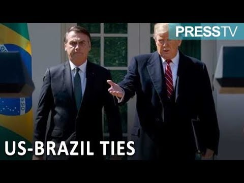 [20 March 2019] Trump says strongly considering NATO membership for Brazil - English