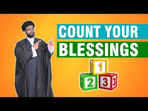 Count your blessings | One Minute Wisdom  | English