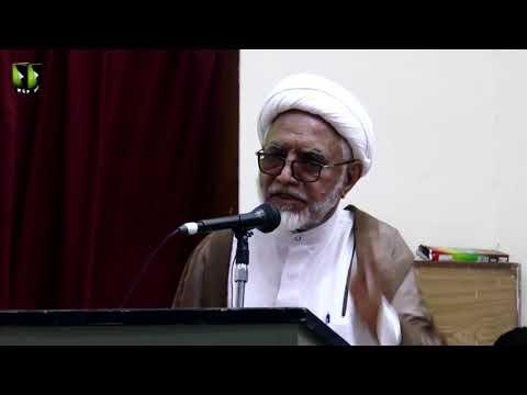 [Speech] H.I Mirza Yousuf Hussain | Youm e Mustafa (saww) | Federal Urdu University - Urdu