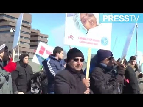 [28 March 2019] Canadians protest government support for Saudis - English