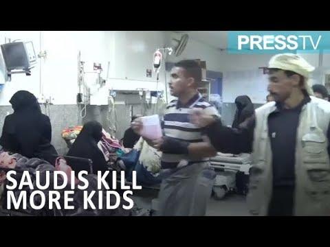 [8 April 2019] 13 Yemeni schoolchildren killed in latest Saudi airstrikes - English