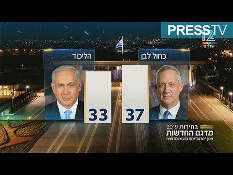 [10 April 2019] Netanyahu, Gantz both declare victory in Israel's general polls - English