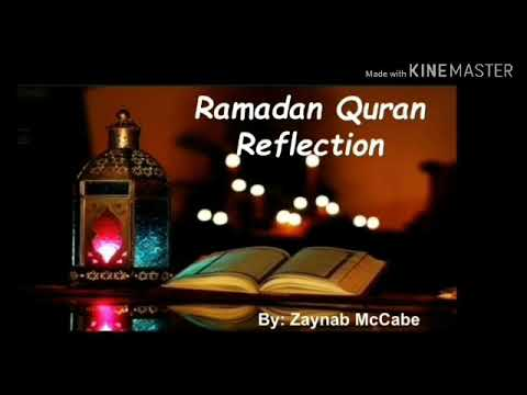 Ramadan Quran Reflection 1 - English