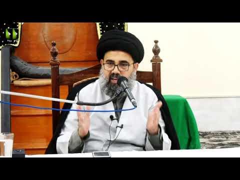 [Lecture 1] Topic: صلح امام حسن ؑ ، قیام عاشورا کا مقدمہ | H.I Ahmed Iqbal Rizvi - Urdu