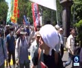 [26 May 2019] Anti-Trump protesters march through Tokyo ahead of state visit - English