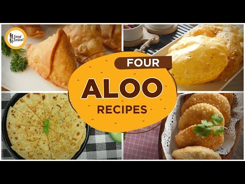 [Quick Recipes] 4 Aloo / potato Recipes (Ramzan Special Recipes)  - English Urdu