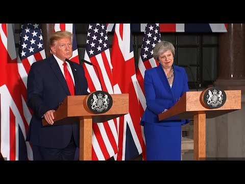 [13 June 2019] Behind pomp and pageantry, Trump is eyeing a British juicy bite - English