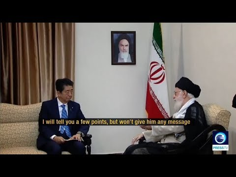 [13 June 2019] Leader to Abe: Iran does not trust U.S. - English