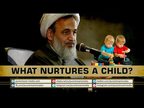What Nurtures a Child? | Agha Alireza Panahian | Farsi Sub English