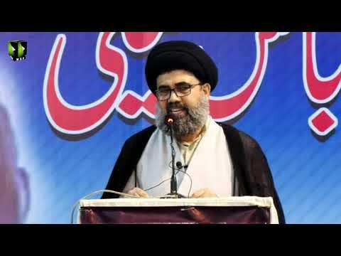 [Majlis-e-Tarheem] Essal-e-Sawab Allama Dr. Abbas Kumaili | Speech: H.I Ahmed Iqbal - Urdu