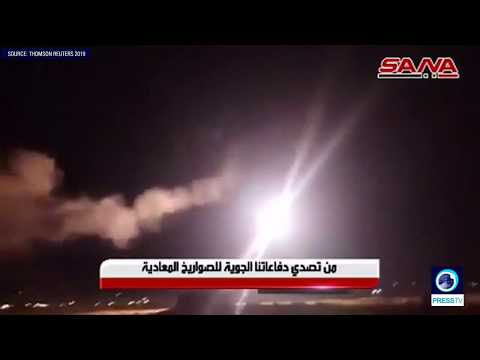 [1 July 2019] Syria releases footage of Israeli missile aggression against Syria - English