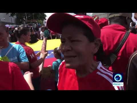 [14 July 2019] Venezuelans rally nationwide against UN report - English