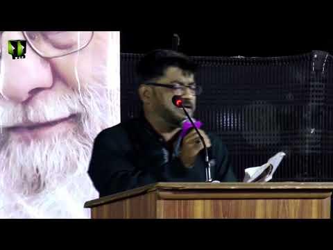 [Markazi Majlis Chelum Wa Barsi] Tarana: Janab Nasir Agha | 13 July 2019 - Urdu