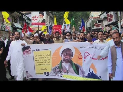 [27 July 2019] Protesters in Kashmir demand Sheikh Zakzaky\'s release - English