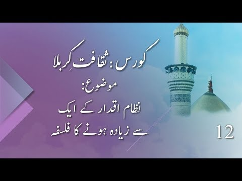 Nizam e Iqdaar Ky Aik Sy Zaida Honay Ka Falsafa | نظام اقدار کے ایک سے زیادہ ہونے کا فلسف