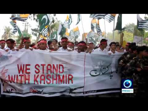 [28 August 2019] Pakistan: School pupils rally in Karachi over situation in Kashmir - English