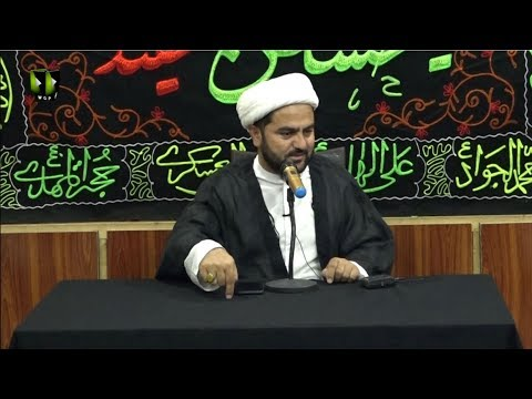 [01] Topic: Tehreek e Karbala ke Tarbiyati Pehlu | Moulana Mohammad Nawaz | Muharram 1441 - Urdu