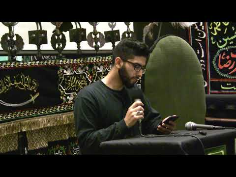[Latmia] Muharram Poetry | Oh Crescent of Karbala | Br. Muhammad Sajjad English