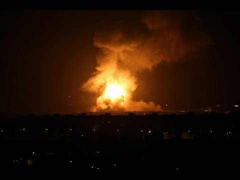 [12 September 2019] Israeli warplanes hit positions in northern Gaza - English