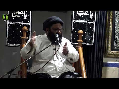 [03] Topic: Falsfa e Ghaibat-e-Imam or Hamari Zimadari | H.I Kazim Abbas Naqvi | Muharram 1441 - Urdu