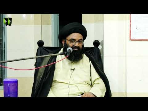 [03] Topic: Dushman Shanasi | H.I Kazim Abbas Naqvi | Muharram 1441/2019 - Urdu