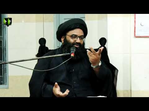 [05] Topic: Dushman Shanasi | H.I Kazim Abbas Naqvi | Muharram 1441/2019 - Urdu