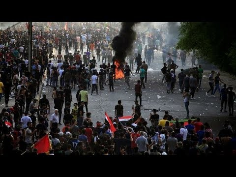 [03/10/19] Iraqi protesters hold rallies defying curfew - English