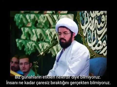 Günahların Etkileri (Haram lokma - Gıybet) 🔶 Hüccet\'ül İslam Mesud Ali - Farsi sub Turkish