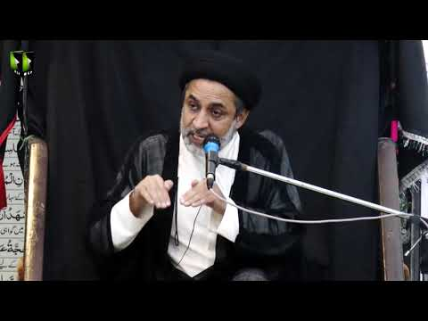 [01] Topic: Quran or Karbala | H.I Muhammad Haider Naqvi | Safar 1441 - Urdu