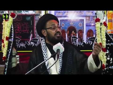 [09] Topic: Imam (aj) kay Liey Tayyari Or Rouhani Rabta | H.I Sadiq Taqvi | Safar 1441 - Urdu