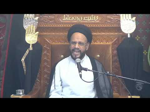 6th Majlis Ashra-E-Zainabia s.a Shab 17th Safar 1441/15.10.2019 Topic:Critical Thinking I HI Syed Muhammad Zaki Baqri-Ur