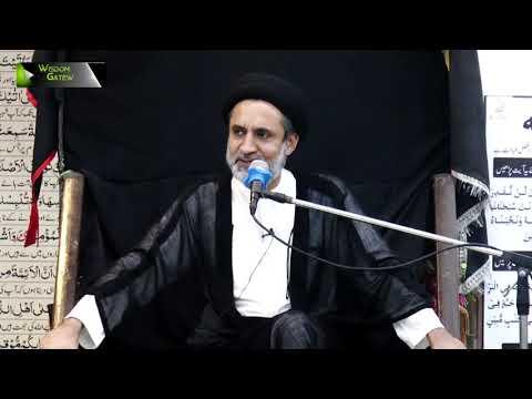 [04] Topic: Quran or Karbala | H.I Muhammad Haider Naqvi | Safar 1441 - Urdu