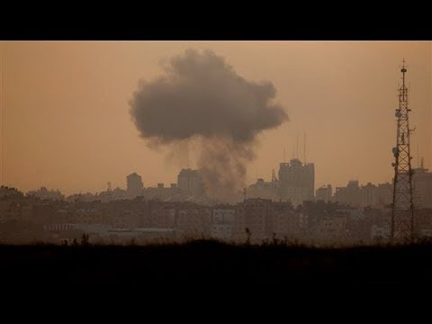 [02/11/19] israeli aircraft target Hamas positions in Gaza Strip - English