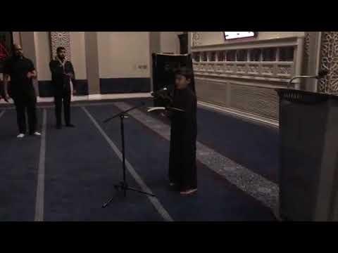 [Noha] Bint e Zahra ka khula sar hai khuda | Alamdar Moosavi  | Jaffari Community Center  - Urdu