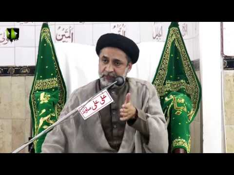 [Majlis] Wafat Hazrat AbuTalib (as) | H.I Muhammad Haider Naqvi | 1441/2019 - Urdu
