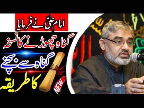 [Clip] 24 hours Gunah Se Bachne Ka Tarika || H.I Syed Ali Murtaza Zaidi Urdu