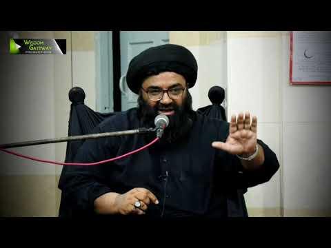 [Clip] Zulm Pasandi - ظلم پسندی | H.I Syed Kazim Abbas Naqvi - Urdu