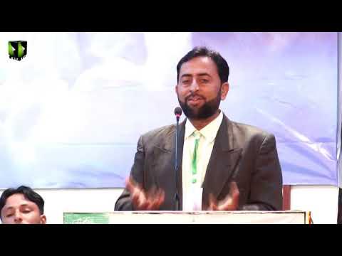 [Speech] Janab Naseem Abbas | Aashiqaan -e- Mehdi (atfs) Convention 2019 - Sindhi