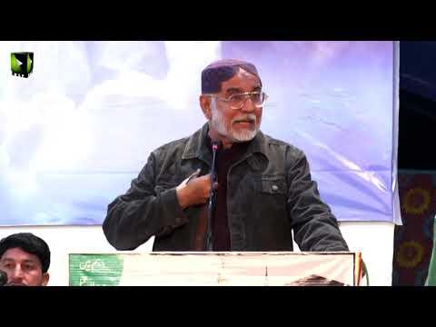 [Speech] Janab Ikhlaaq Ahmed Ikhlaaq | Shab-e-Shohada |  Aashiqaan -e- Mehdi (atfs) Convention 2019 - SIndhi