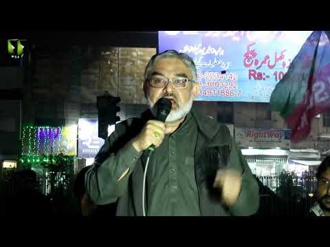 [Speech] Protest Against US   Martyrdom of Qasim Soleimani   H.I Ali Murtaza Zaidi - Urdu