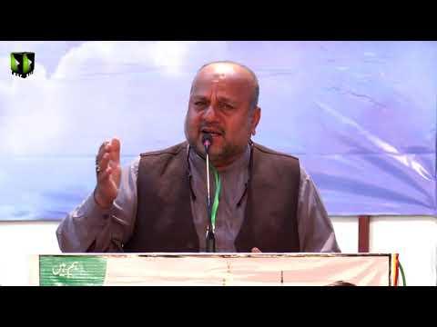 [Tarana] Janad Irshaad Ali Hussaini | Shab-e-Shohada |  Aashiqaan -e- Mehdi (atfs) Convention 2019 - Urdu