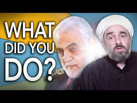 General Qasem Soleimani: One of the holiest Generals that mankind has ever witnessed | Shaykh Sekaleshfar | English