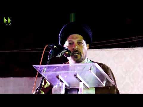 [Speech] Tahafuz-e-Namoos-e-Imam Mehdi (as) Conference   H.I Syed Baqir Zaidi - Urdu