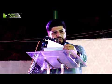 [Speech] Tahafuz-e-Namoos-e-Imam Mehdi (as) Conference   Janab Ali Hussain - Urdu