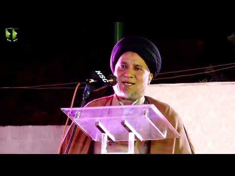 [Speech] Tahafuz-e-Namoos-e-Imam Mehdi (as) Conference   Moulana Own Muhammad Naqvi - Urdu